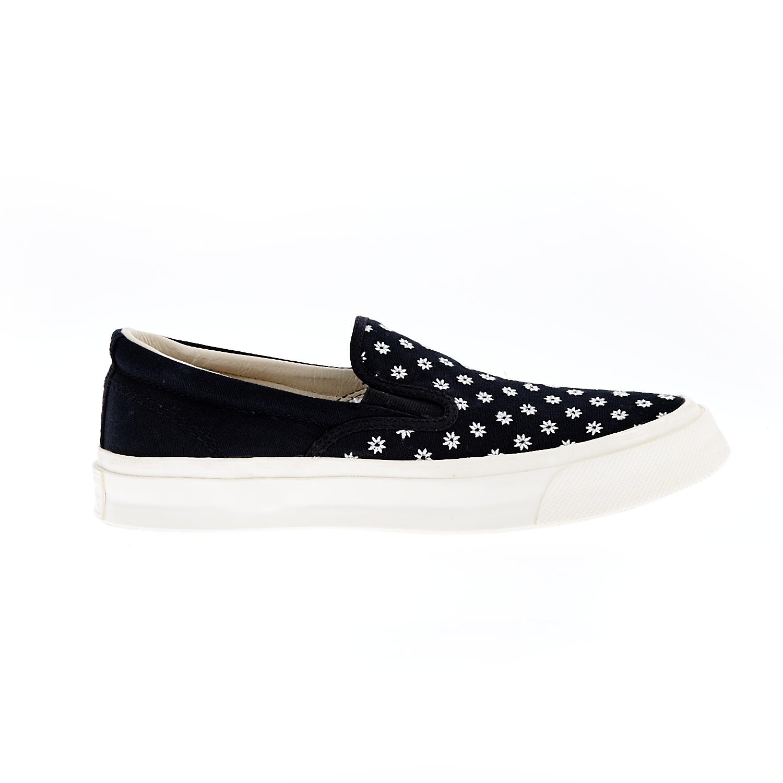 CONVERSE - Unisex παπούτσια CTAS DECK STAR SLIP '67 μαύρα γυναικεία παπούτσια μοκασίνια μπαλαρίνες μοκασίνια