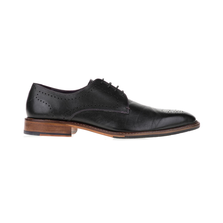 TED BAKER - Ανδρικά παπούτσια MARAR TED BAKER μαύρα ανδρικά παπούτσια μοκασίνια loafers