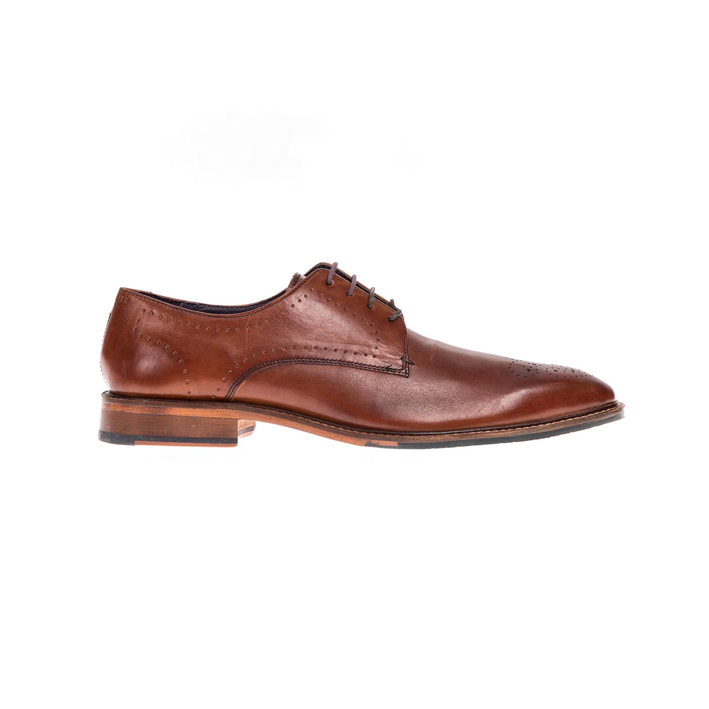 TED BAKER - Αντρικά παπούτσια TED BAKER καφέ ανδρικά παπούτσια μοκασίνια loafers