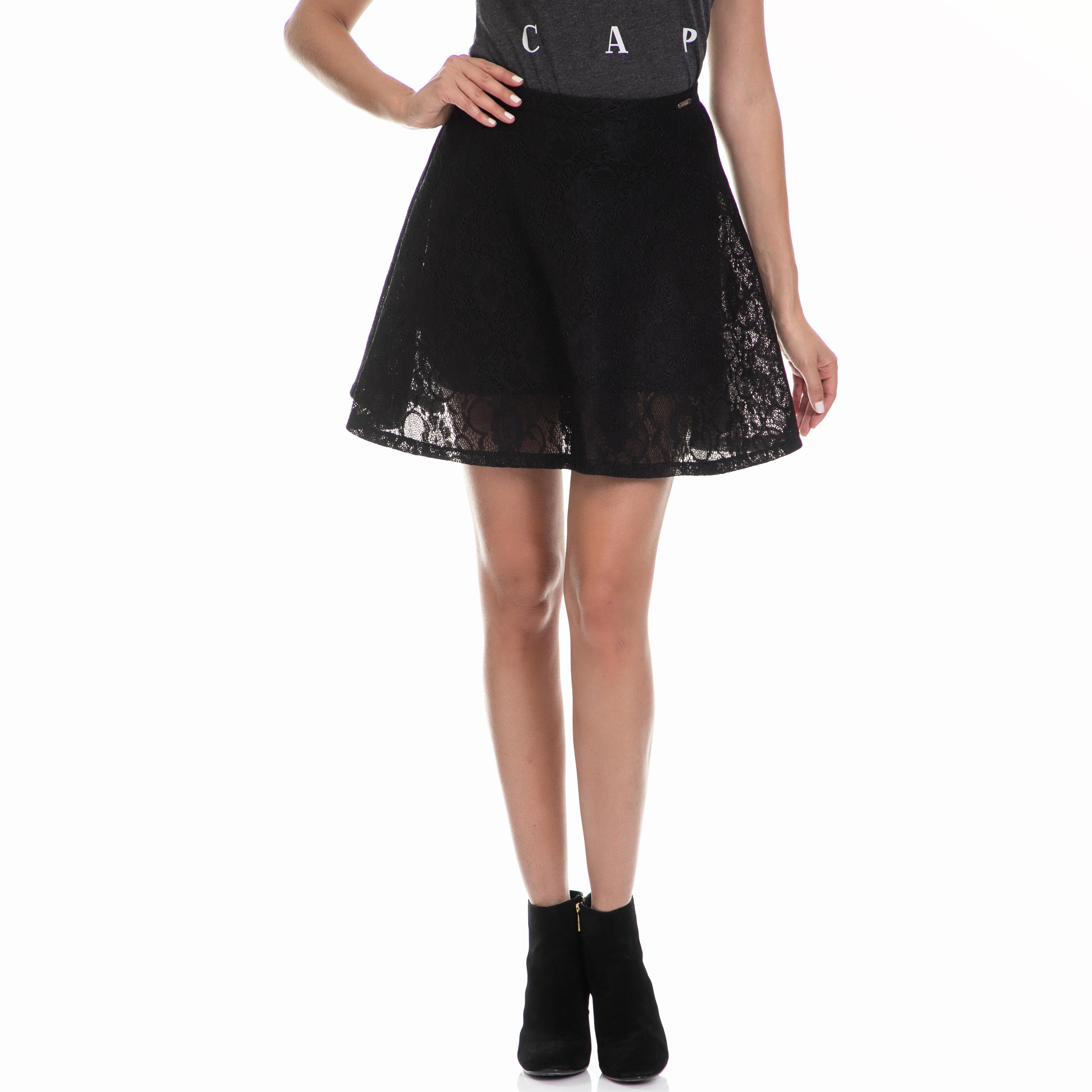 GUESS – Γυναικεία φούστα GAS μαύρη