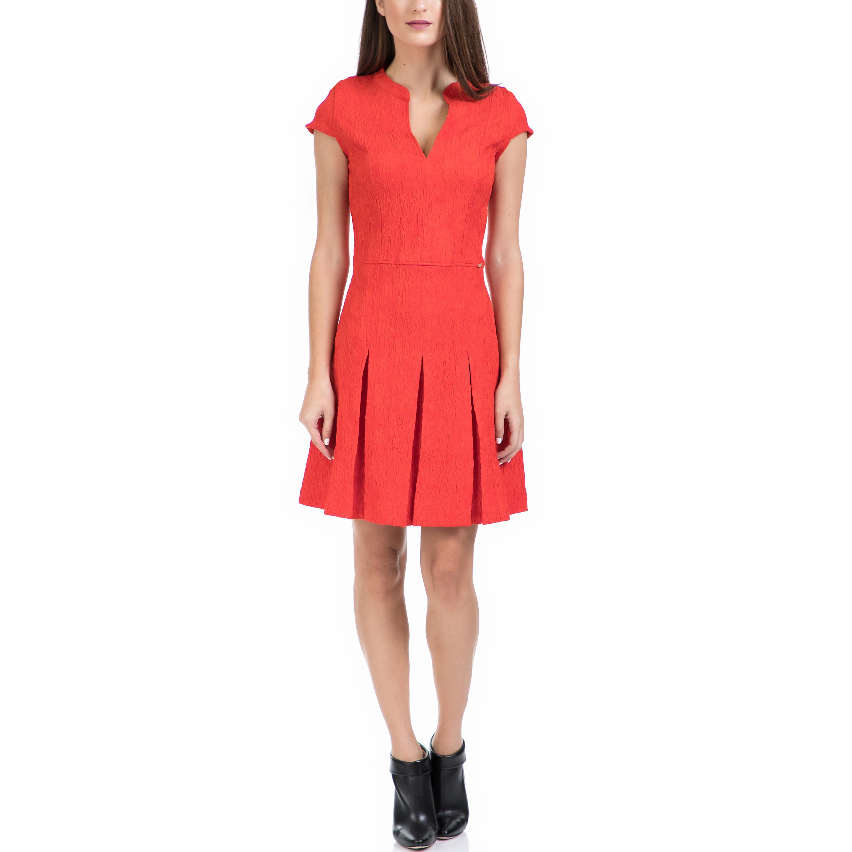 GUESS - Γυναικείο φόρεμα GUESS κόκκινο γυναικεία ρούχα φορέματα μίνι