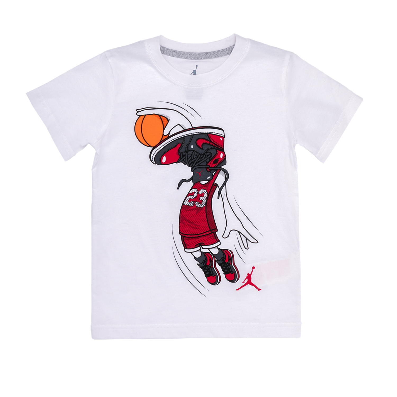 NIKE KIDS – Βρεφική μπλούζα NIKE λευκή