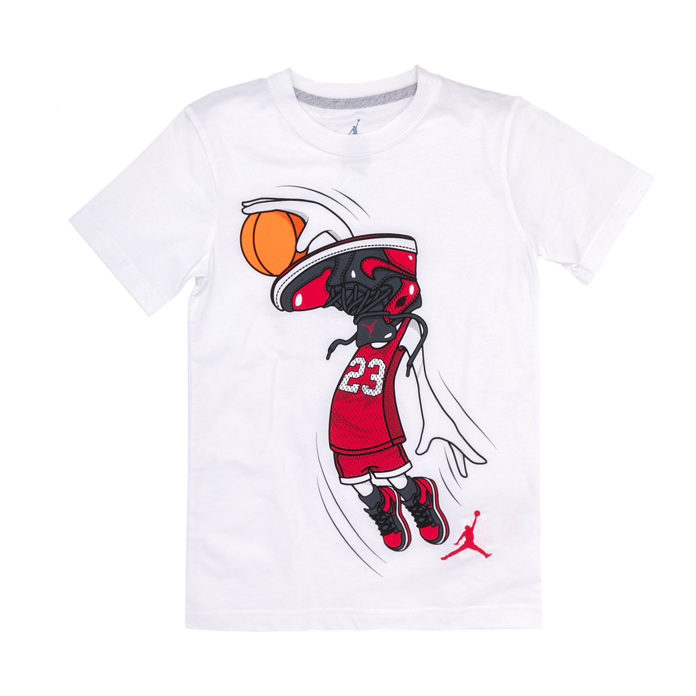 NIKE KIDS – Παιδική μπλούζα Nike λευκή