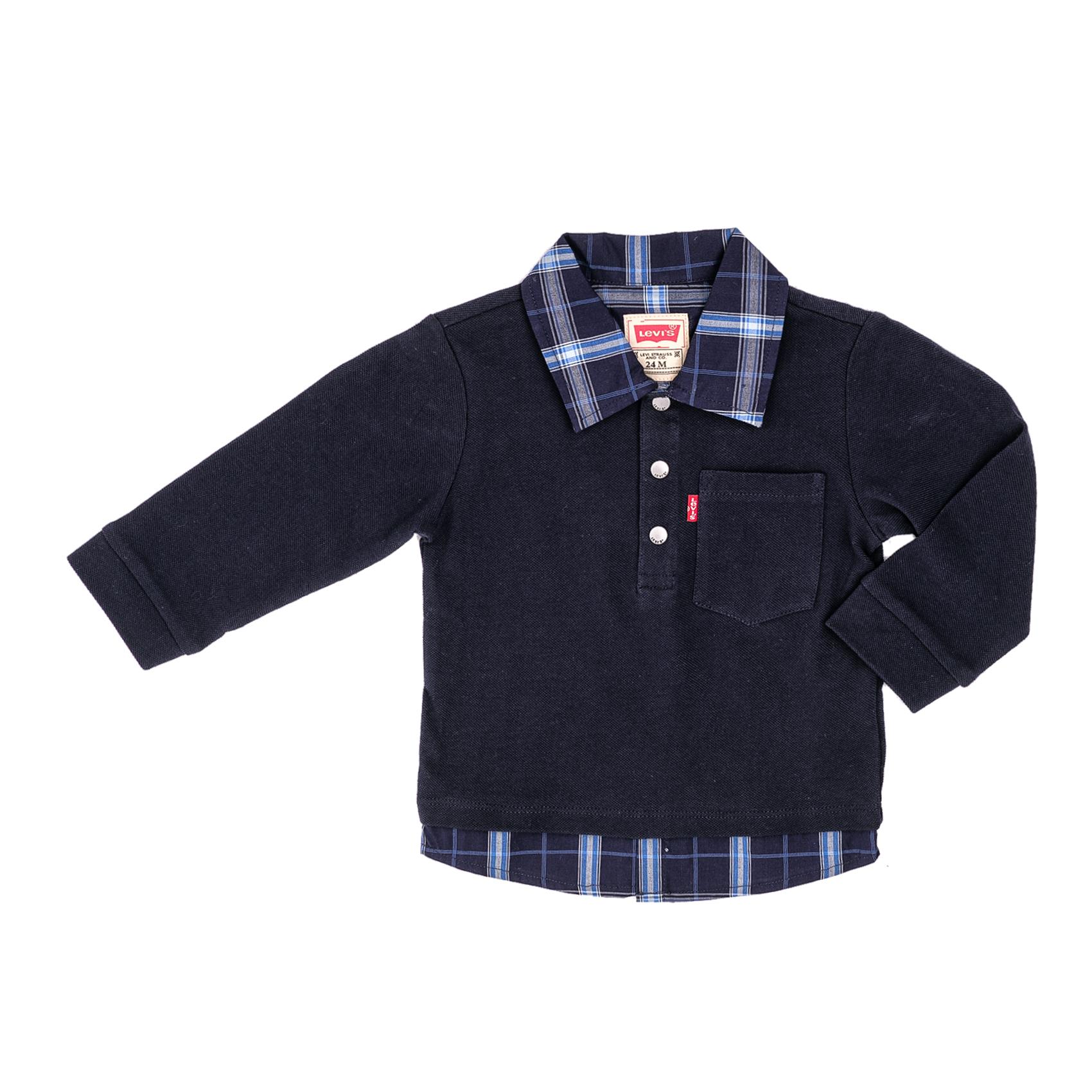 LEVI'S KIDS – Παιδική μπλούζα πόλο LEVI'S KIDS μπλε