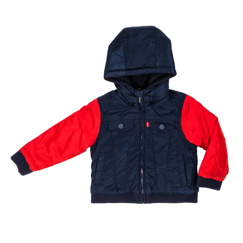 LEVI'S KIDS – Αγορίστικο μπουφάν LEVI'S KIDS μπλε-κόκκινο