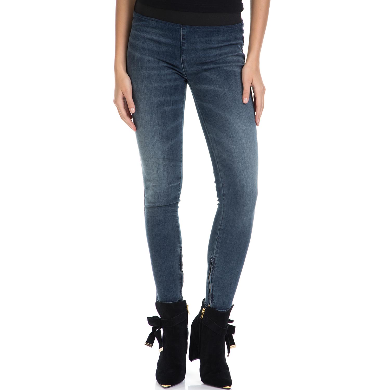 FRANKLIN & MARSHALL – Γυναικείο τζιν παντελόνι FRANKLIN & MARSHALL μπλε