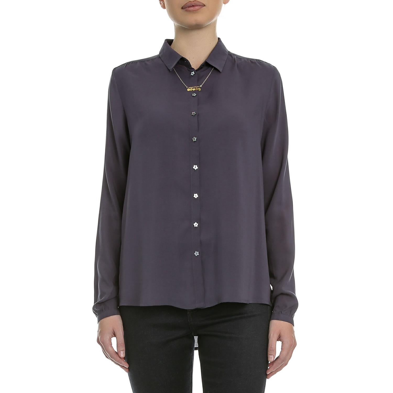 de57af8456e4 SCOTCH   SODA – Γυναικείο πουκάμισο Maison Scotch σκούρο μπλε