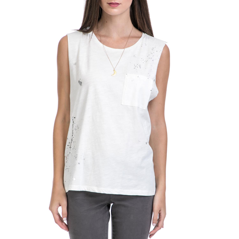 MAISON SCOTCH – Γυναικεία μπλούζα MAISON SCOTCH λευκή