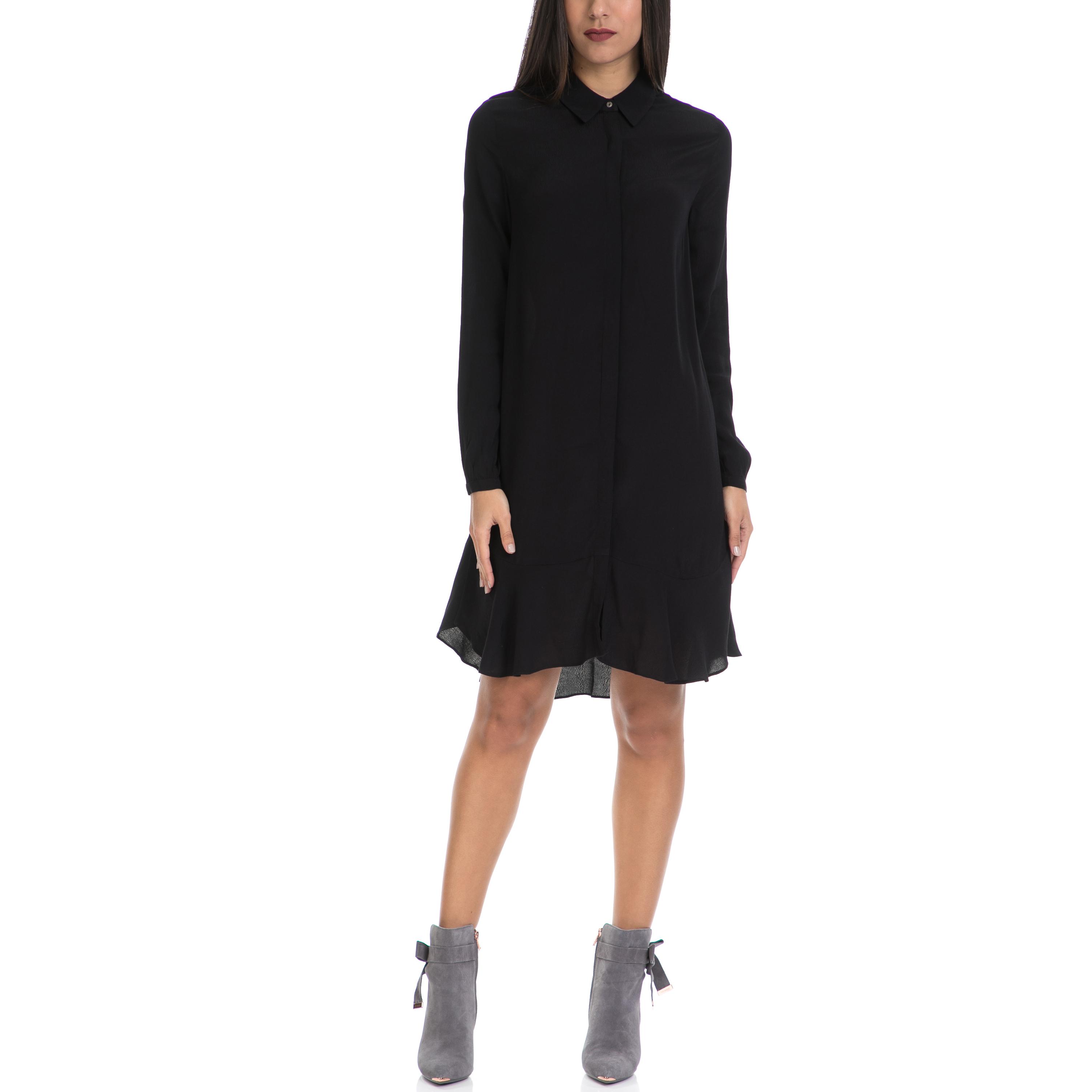 MAISON SCOTCH - Γυναικείο φόρεμα MAISON SCOTCH μαύρο γυναικεία ρούχα φορέματα μίνι