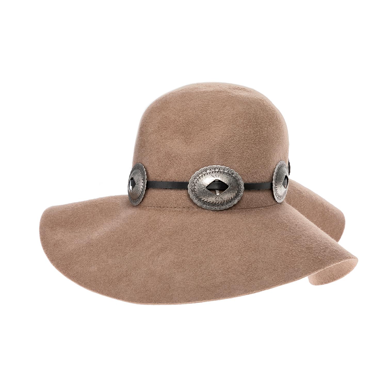 MAISON SCOTCH – Γυναικείο καπέλο MAISON SCOTCH μπεζ