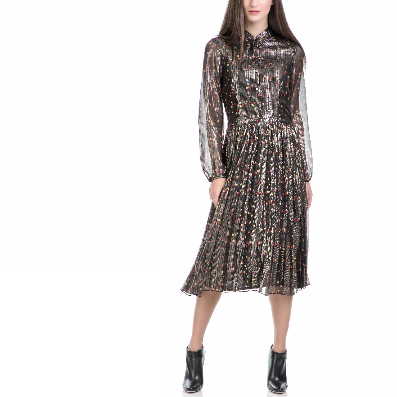 SCOTCH & SODA - Γυναικείο φόρεμα MAISON SCOTCH μαύρο γυναικεία ρούχα φορέματα μάξι