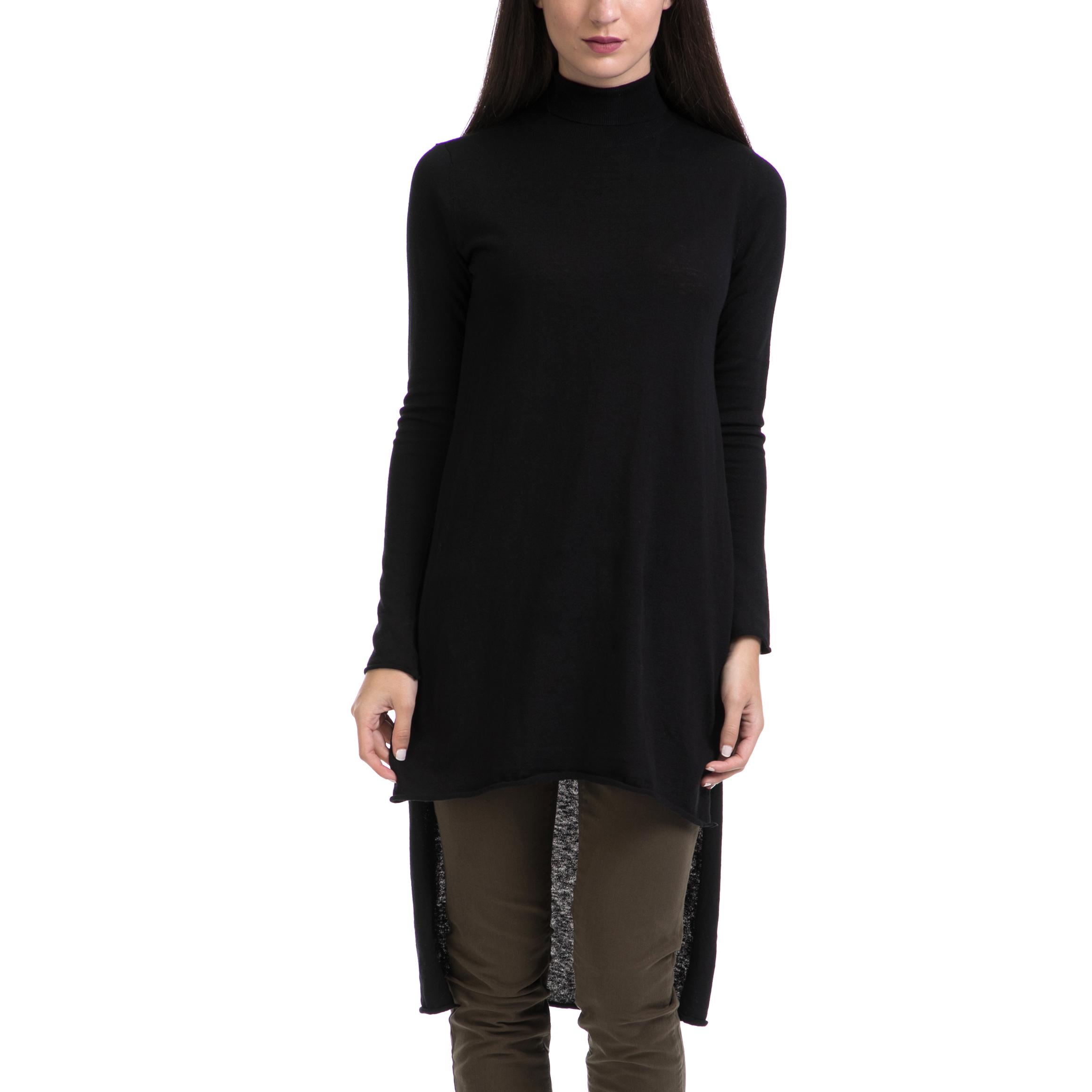 SCOTCH & SODA - Γυναικείο πουλόβερ MAISON SCOTCH μαύρο γυναικεία ρούχα πλεκτά ζακέτες πουλόβερ