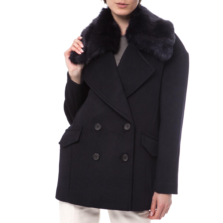 MAISON SCOTCH – Γυναικείο παλτό Maison Scotch μαύρο
