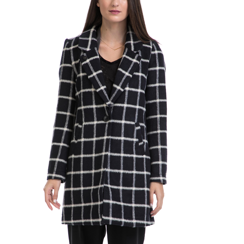 MAISON SCOTCH – Γυναικείο παλτό MAISON SCOTCH μαύρο-άσπρο