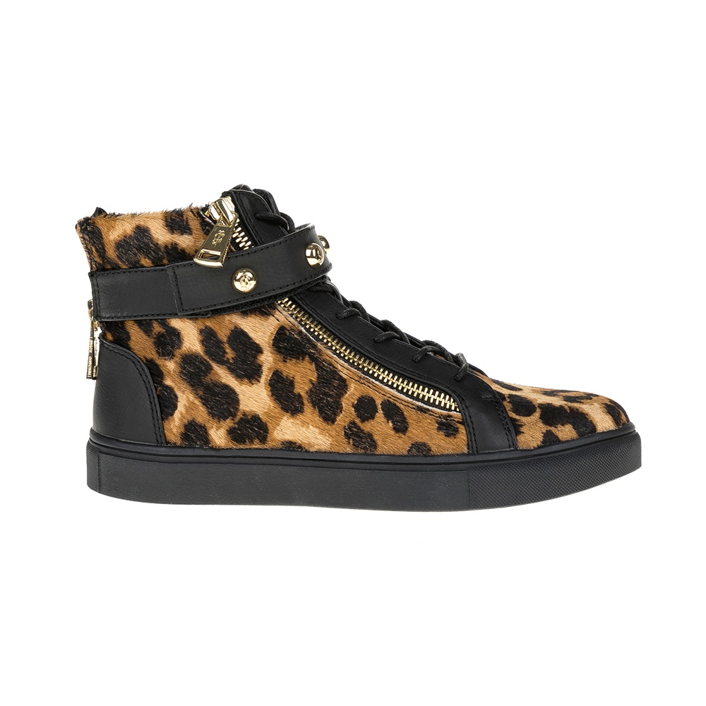 JUICY COUTURE - Γυναικεία παπούτσια JUICY COUTURE μαύρα γυναικεία παπούτσια μπότες μποτάκια μποτάκια