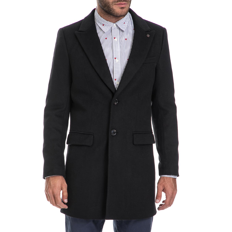 SCOTCH & SODA – Ανδρικό παλτό SCOTCH & SODA μαύρο