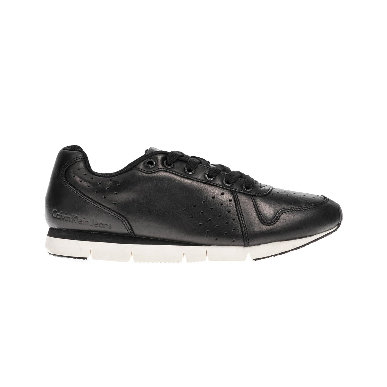 CALVIN KLEIN JEANS – Αντρικά παπούτσια CALVIN KLEIN JEANS μαύρα