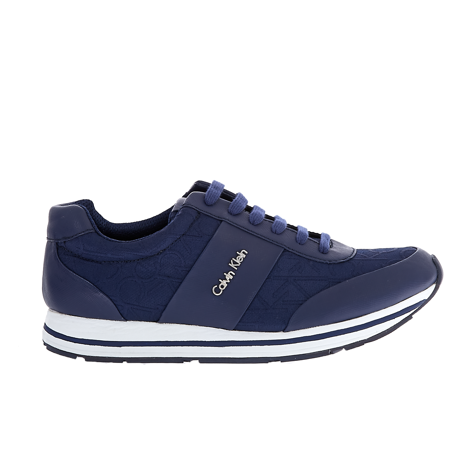 CALVIN KLEIN JEANS - Ανδρικά sneakers CALVIN KLEIN JEANS REED μπλε ανδρικά παπούτσια sneakers