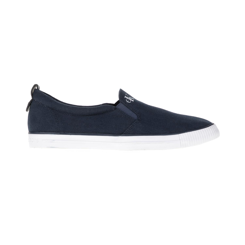CALVIN KLEIN JEANS - Ανδρικά loafers ARMAND μπλε ανδρικά παπούτσια μοκασίνια loafers