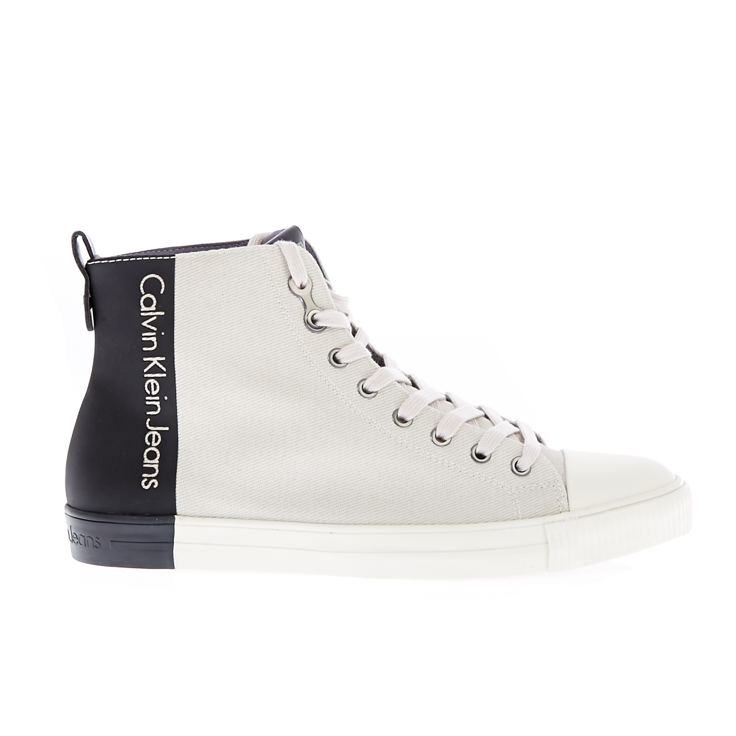 CALVIN KLEIN JEANS - Ανδρικά sneakers CALVIN KLEIN JEANS ARNAUD λευκά ανδρικά παπούτσια sneakers