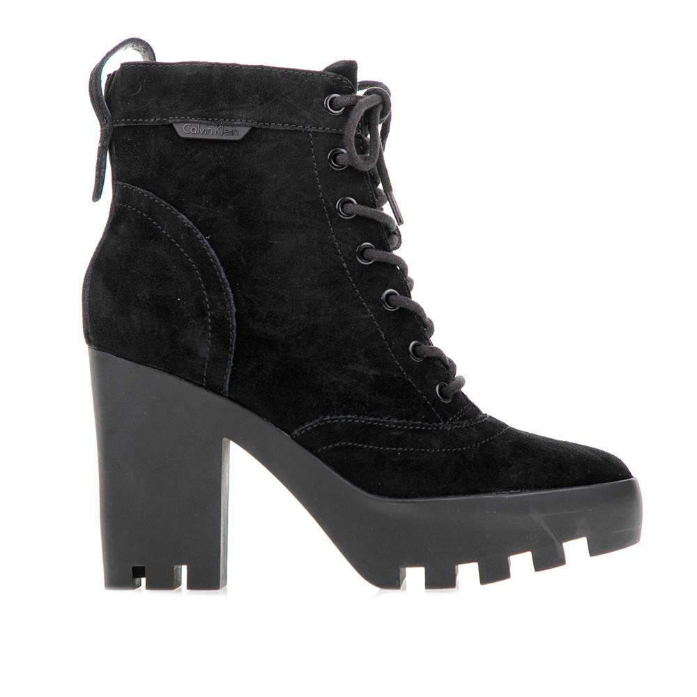 CALVIN KLEIN JEANS – Γυναικεία μποτάκια Calvin Klein Jeans μαύρα. Factory  Outlet cf3c55c8975