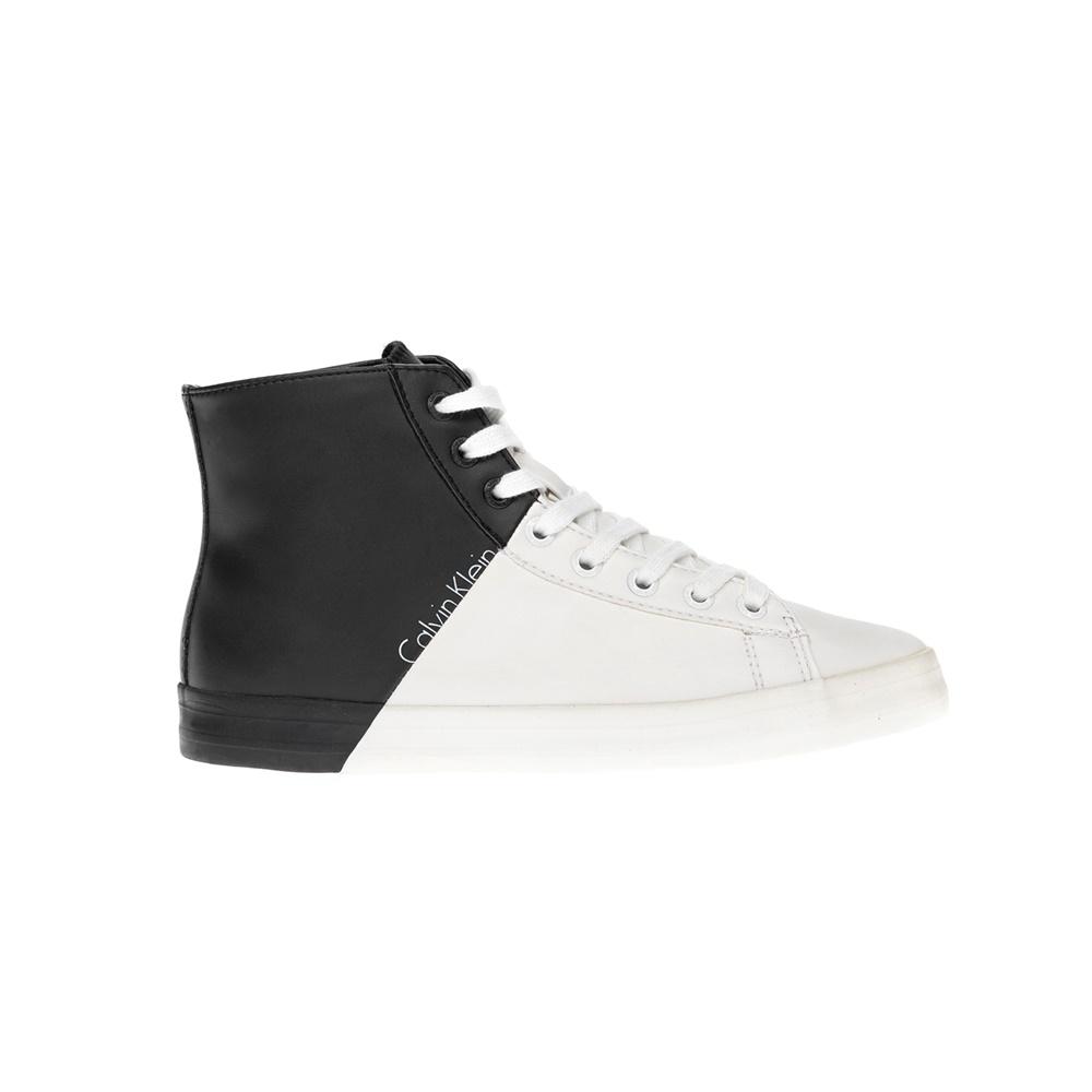 CALVIN KLEIN JEANS - Γυναικεία παπούτσια CALVIN KLEIN JEANS ασπρόμαυρα γυναικεία παπούτσια sneakers
