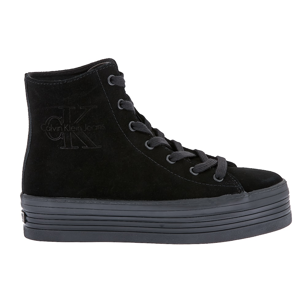 CALVIN KLEIN JEANS – Γυναικεία sneakers Calvin Klein Jeans μαύρα 56151134808
