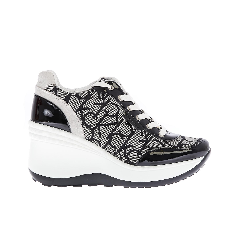 CALVIN KLEIN JEANS – Γυναικεία sneakers CALVIN KLEIN JEANS JAMIE μπεζ