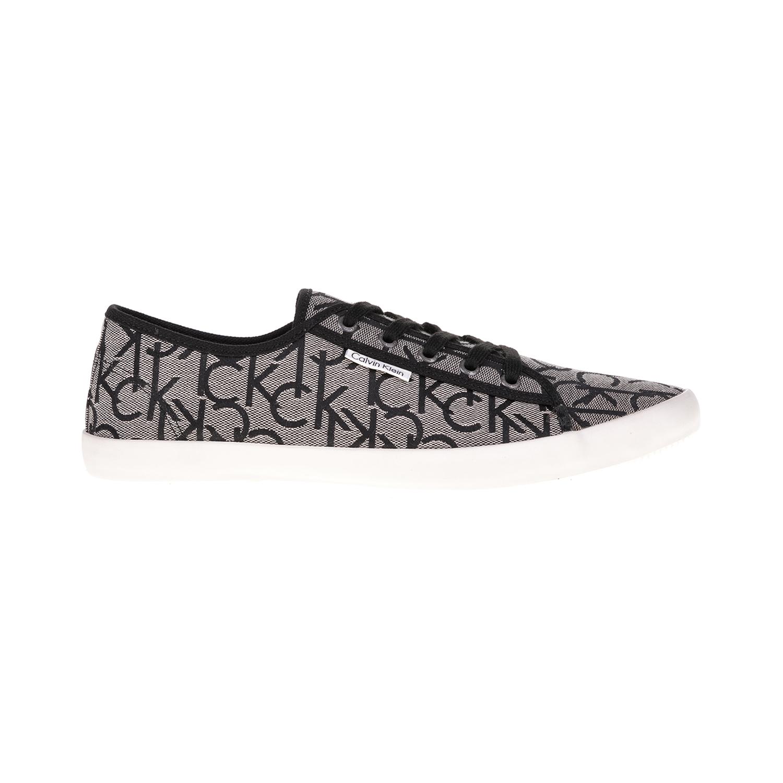CALVIN KLEIN JEANS – Ανδρικά παπούτσια Calvin Klein Jeans γκρι-μαύρα
