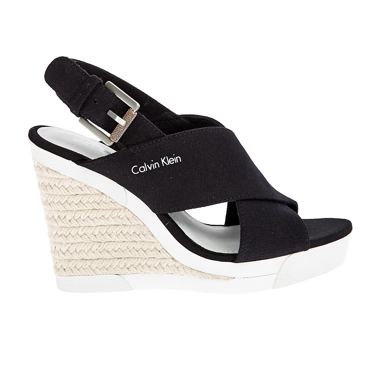 CALVIN KLEIN JEANS – Γυναικείες πλατφόρμες Calvin Klein Jeans μαύρες