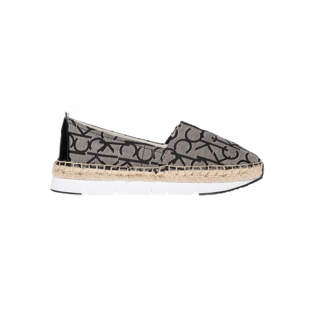 CALVIN KLEIN JEANS – Γυναικεία παπούτσια CALVIN KLEIN JEANS γκρι-μαύρα