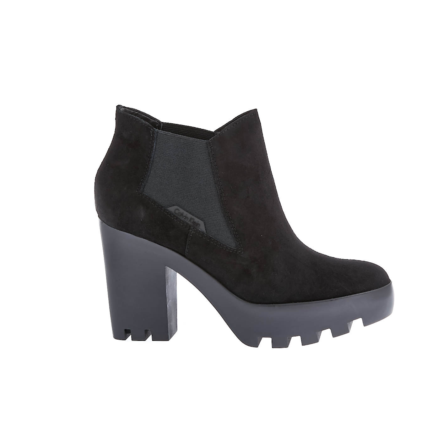 CALVIN KLEIN JEANS - Γυναικεία μποτάκια Calvin Klein Jeans μαύρα
