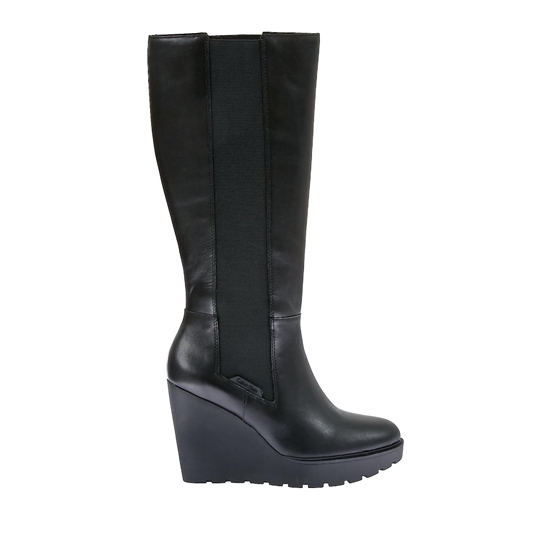 CALVIN KLEIN JEANS - Γυναικείες μπότες Calvin Klein Jeans μαύρες b7f00042820