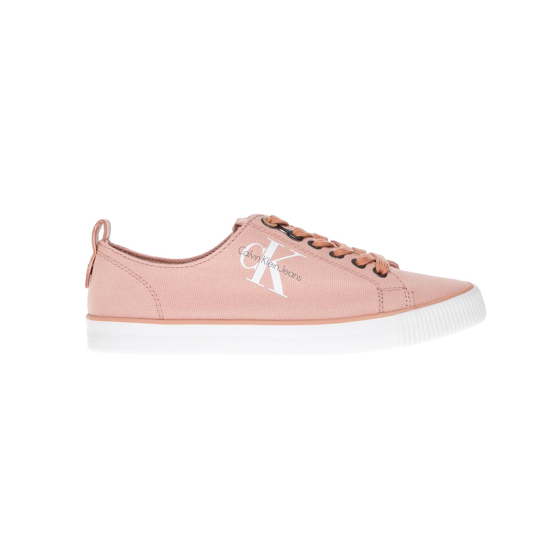 CALVIN KLEIN JEANS - Γυναικεία παπούτσια CALVIN KLEIN JEANS ροζ γυναικεία παπούτσια sneakers