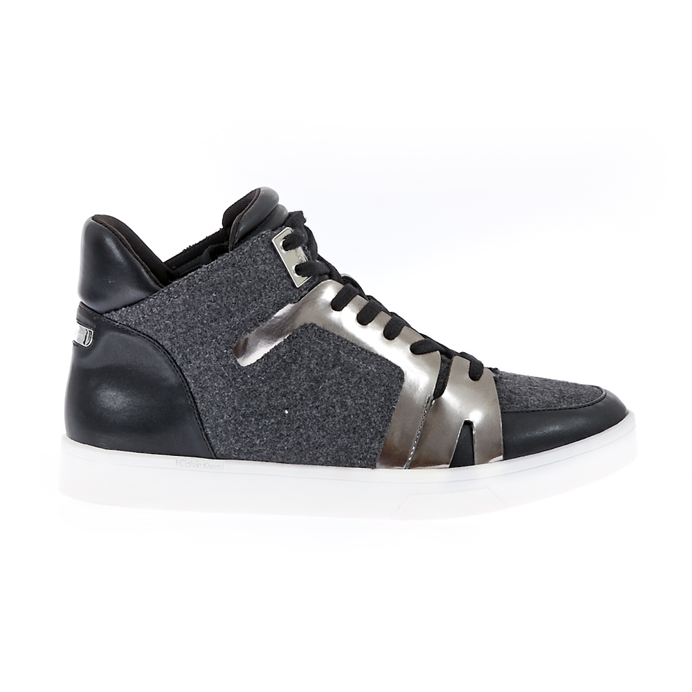 CALVIN KLEIN JEANS - Γυναικεία παπούτσια Calvin Klein Jeans μαύρα γυναικεία παπούτσια μπότες μποτάκια μποτάκια