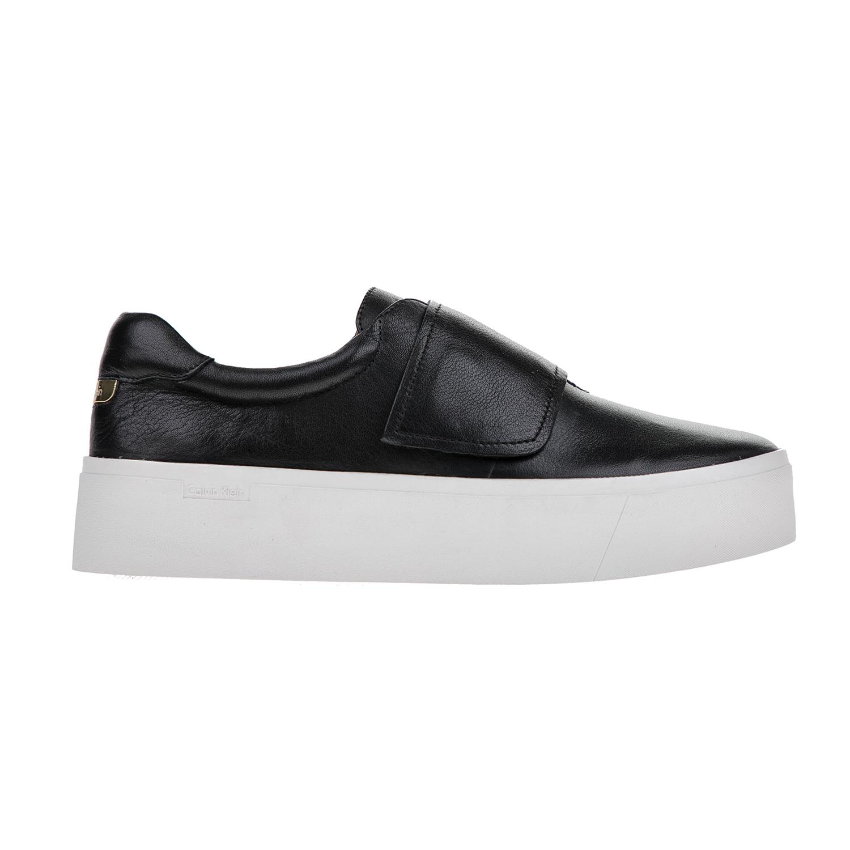CALVIN KLEIN JEANS – Γυναικεία παπούτσια CALVIN KLEIN JEANS JAIDEN μαύρα