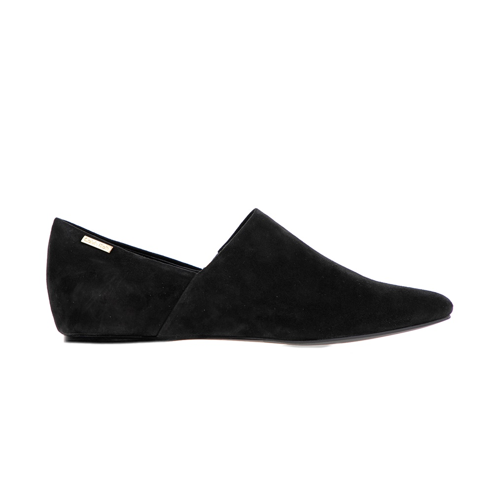 CALVIN KLEIN JEANS – Γυναικεία μοκασίνια Calvin Klein Jeans μαύρα 3975e713e3b