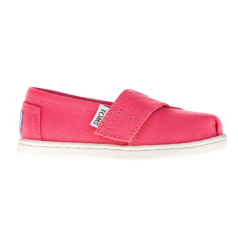TOMS – Παιδικά slip on παπούτσια TOMS φούξια