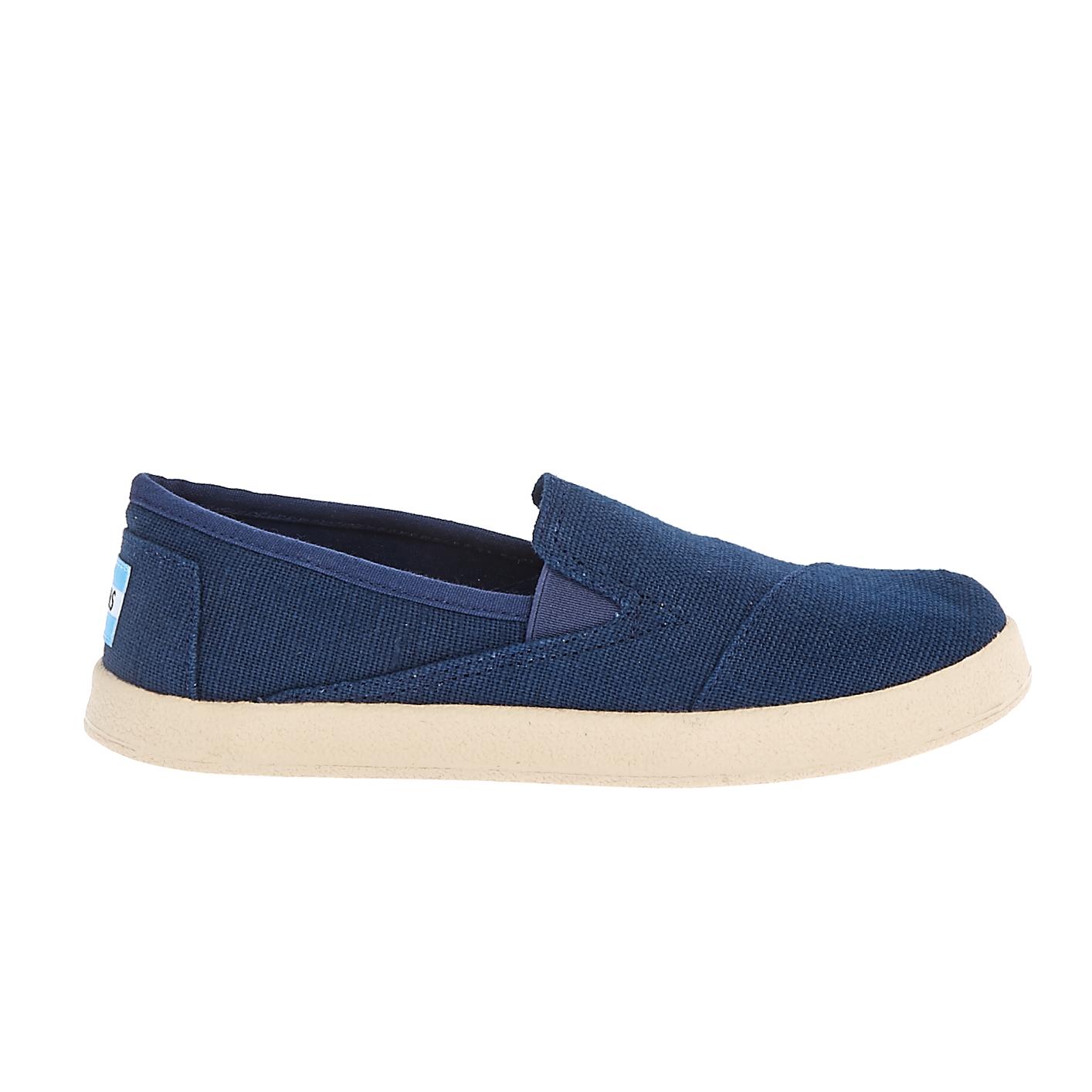 TOMS - Παιδικά slip on παπούτσια TOMS μπλε παιδικά boys παπούτσια casual