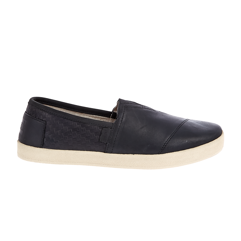 TOMS - Ανδρικά slip on παπούτσια TOMS μαύρα