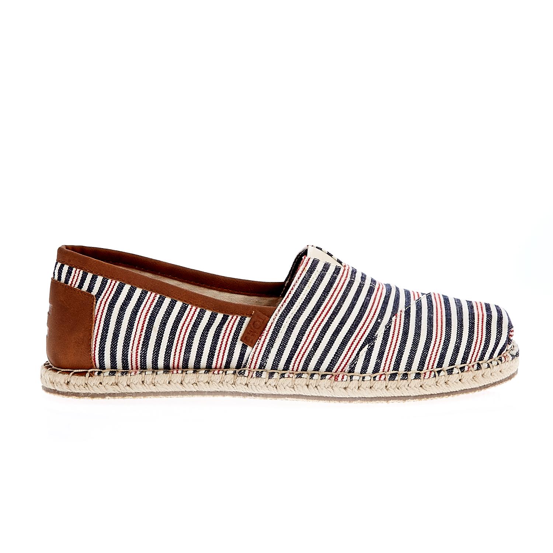 TOMS - Ανδρικές εσπαντρίγιες TOMS ALPR μπλε-λευκές ανδρικά παπούτσια εσπαντρίγιες