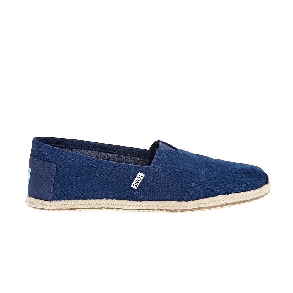 TOMS - Ανδρικές εσπαντρίγιες TOMS LINEN ROPE μπλε ανδρικά παπούτσια εσπαντρίγιες