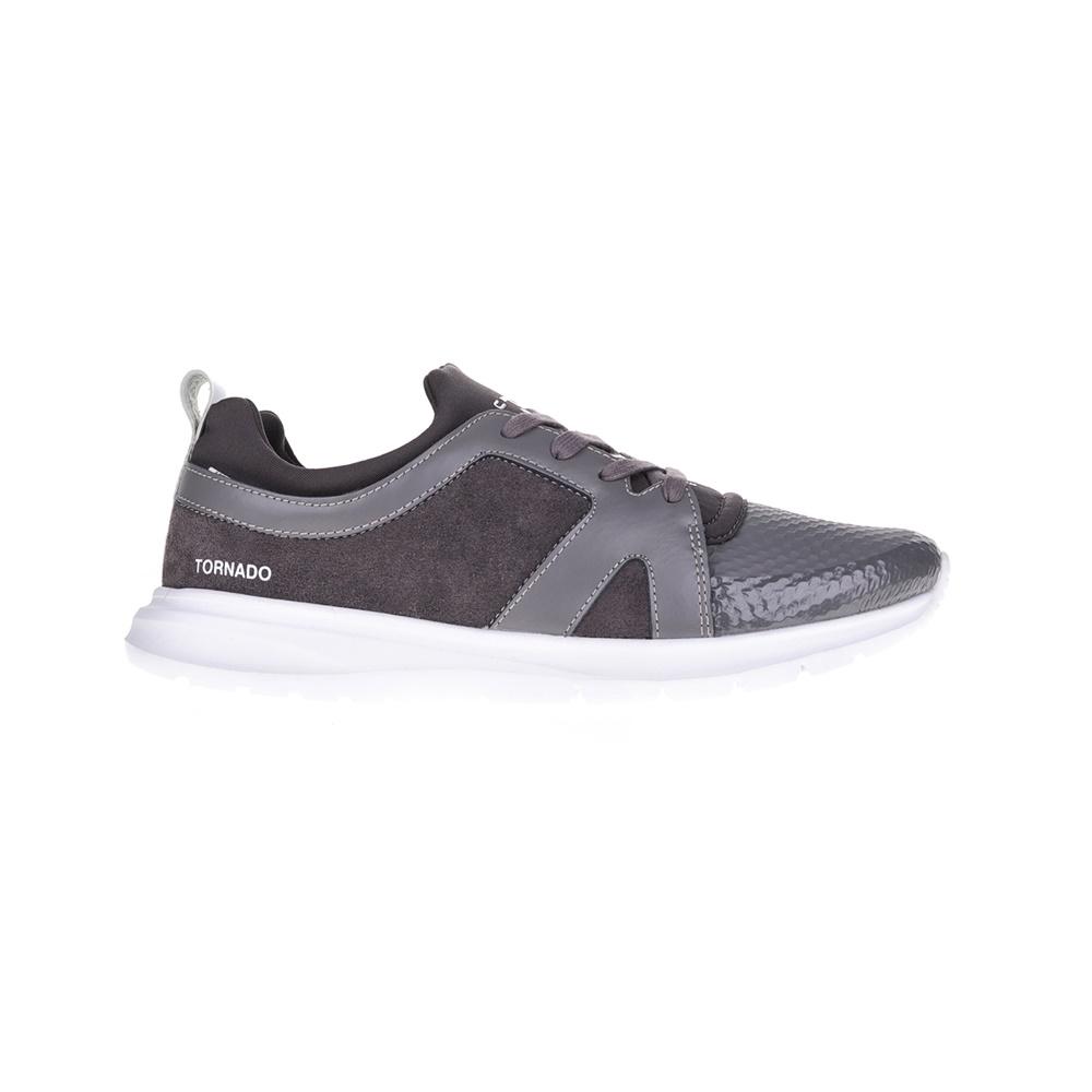 PANTONE - Αντρικά παπούτσια FLORENCE PANTONE γκρι ανδρικά παπούτσια sneakers
