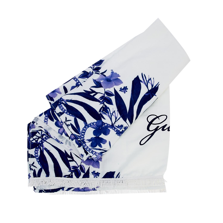 GUESS - Πετσέτα θαλάσσης Guess λευκή γυναικεία αξεσουάρ πετσέτες