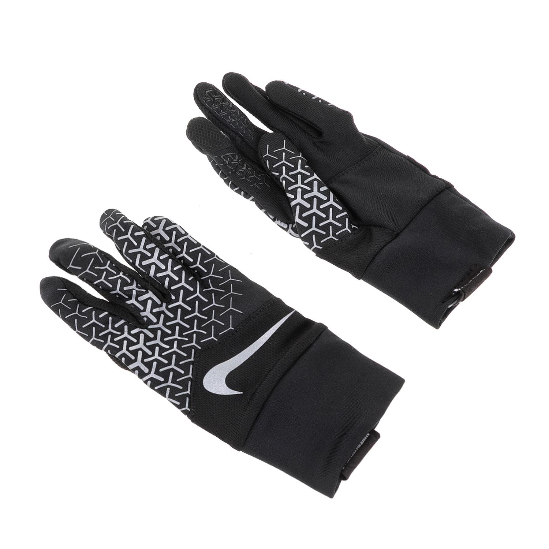NIKE ACCESSORIES – Γάντια για τρέξιμο N.RG.F7.SL DRI-FIT TEMPO 360 RUN μαύρα-λευκά