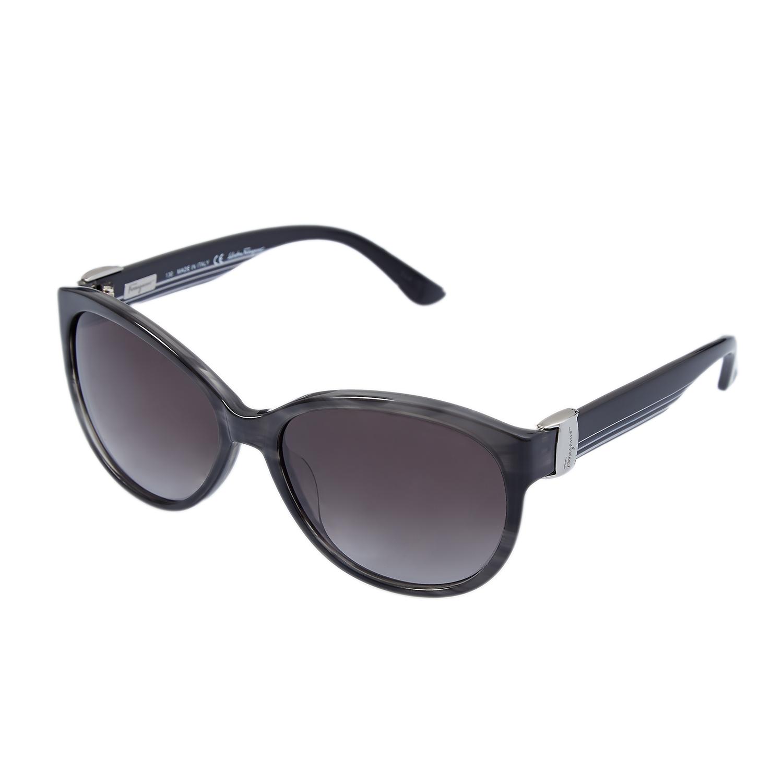 SALVATORE FERRAGAMO - Γυναικεία γυαλιά ηλίου SALVATORE FERRAGAMO μαύρα γυναικεία αξεσουάρ γυαλιά ηλίου