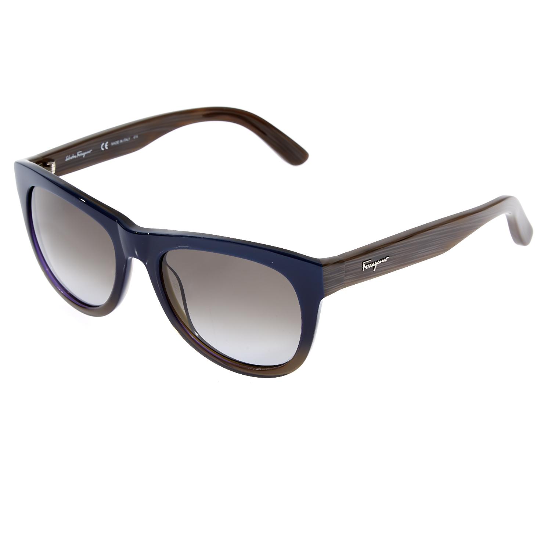 SALVATORE FERRAGAMO - Γυναικεία γυαλιά ηλίου SALVATORE FERRAGAMO μπλε fb5e1f528df