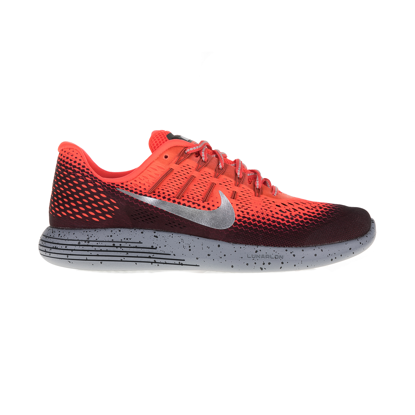 NIKE - Ανδρικά αθλητικά παπούτσια Nike LUNARGLIDE 8 SHIELD κόκκινα ανδρικά παπούτσια αθλητικά running