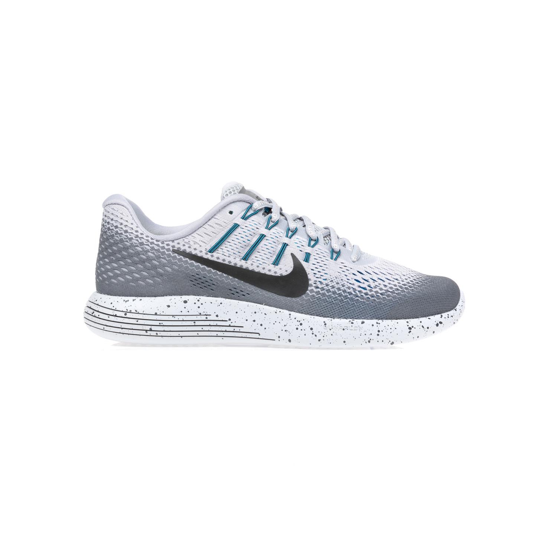 NIKE - Ανδρικά παπούτσια NIKE LUNARGLIDE 8 SHIELD λευκά-γκρι ανδρικά παπούτσια αθλητικά running