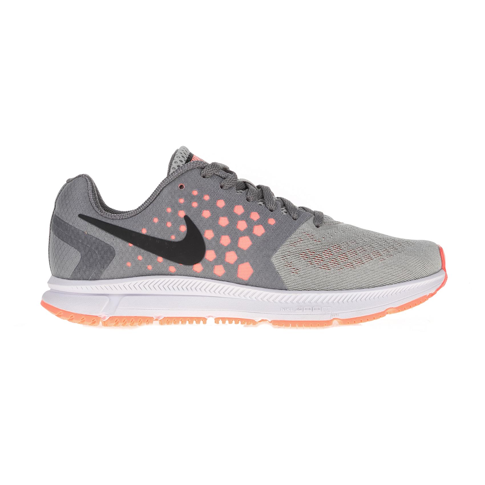 NIKE – Γυναικεία αθλητικά παπούτσια Nike ZOOM SPAN γκρι -πορτοκαλί